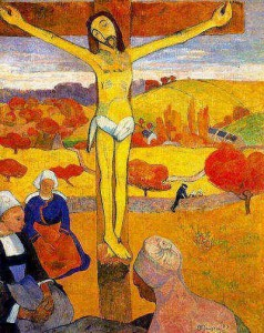 The Yellow Christ Gauguin painting