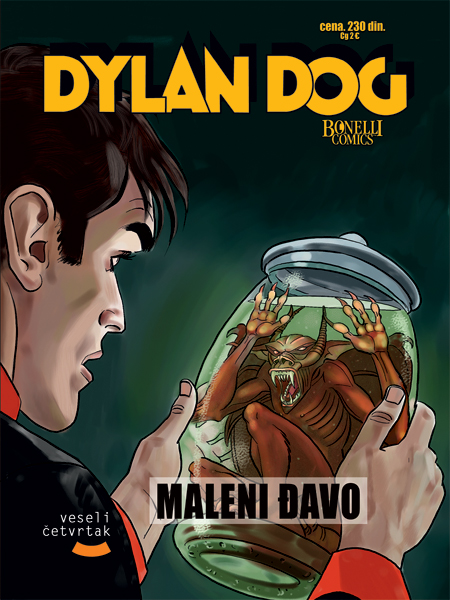 Dylan Dog, Gručo, Inspektor Blok, Veseli Četvrtak